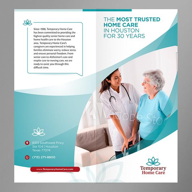 Home Care Brochure Bi Fold Needed Brochure Contest