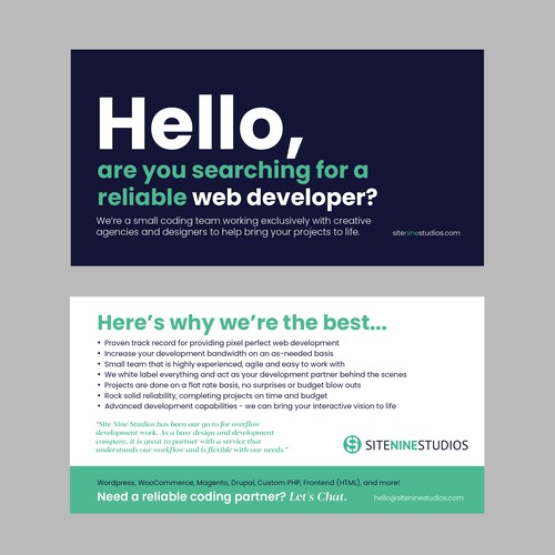 Runner-up design by PaperPaper