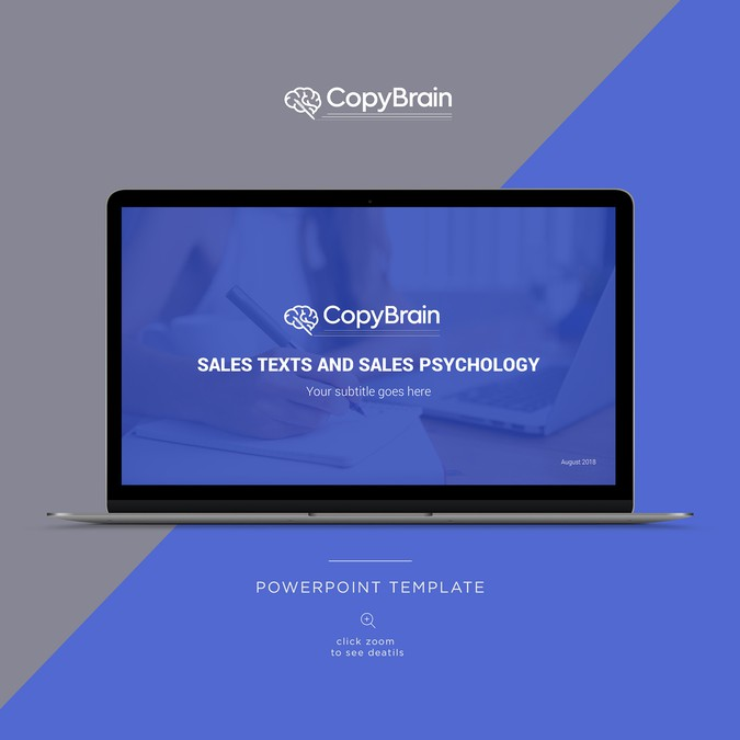 Wanted powerpoint template for copywriting and sales psychology winning design by ah toneelgroepblik Image collections