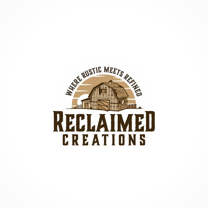 Logo For Reclaimed Creations Reclaimed Lumber Woodworking Business