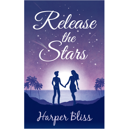 Create a cover for a light-hearted romance novel Design by faraway