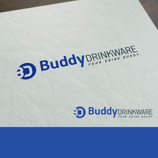 Create A Friendly Logo Design For Buddy Drinkware Logo