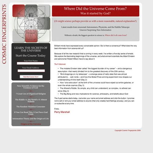 Diseño finalista de web-bod