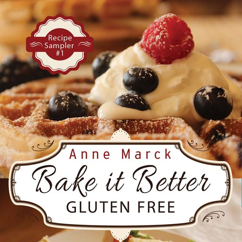 Create a Cover for our Gluten-Free Comfort Food Cookbook Design by LilaM