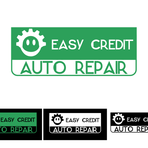 help us help others create logo for easy credit auto repair logo design contest. Black Bedroom Furniture Sets. Home Design Ideas
