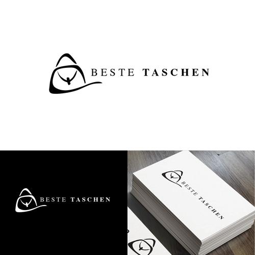 neuer online shop beste taschen sucht edles logo logo design contest. Black Bedroom Furniture Sets. Home Design Ideas