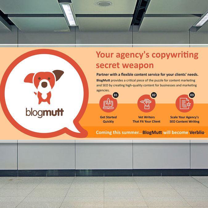 creative eye catching name change banner to display for content