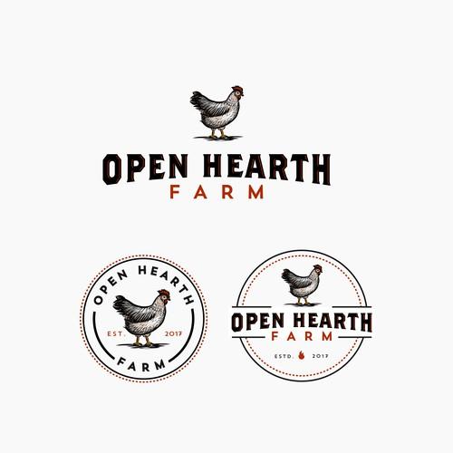 Open Hearth Farm needs a strong, new logo Design by CBT