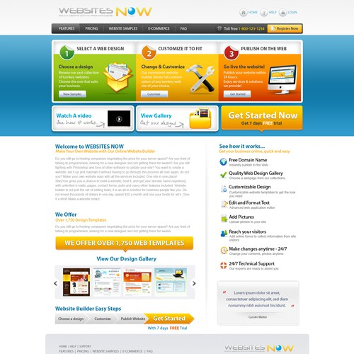 Runner-up design by WEBGATEWAY