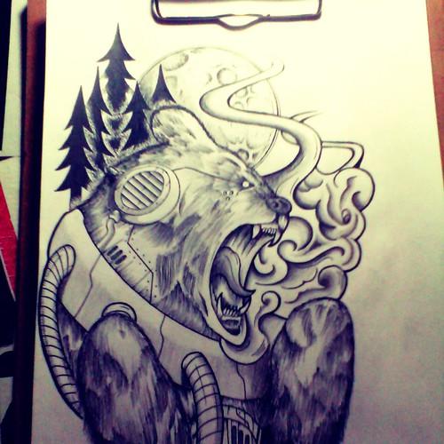 Design finalista por Sleeping Walrus