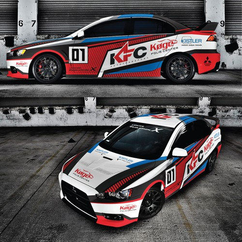 New Rally Car design | Car, truck or van wrap contest |Rally Cars Design