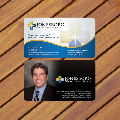 Help jonesboro healthcare clinic with a new stationery runner up design by concept factory reheart