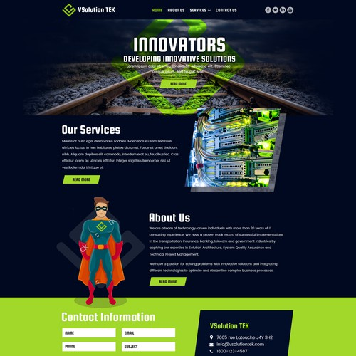 Runner-up design by gs05
