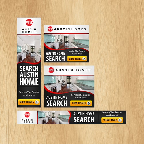 Web Banners For Real Estate Remarketing Banner Ad Contest 99designs