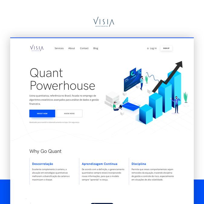 Design vencedor por BuiltByDezine