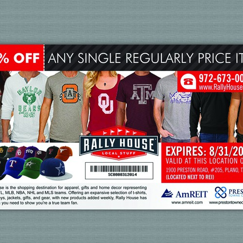 Create an ad for Rally House | Postcard, flyer or print contest on rally house philadelphia, rally house independence, rally house michigan, rally house kansas city,
