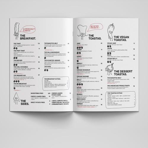 Runner-up design by Raluca De