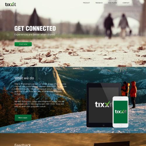 Diseño finalista de Webniz