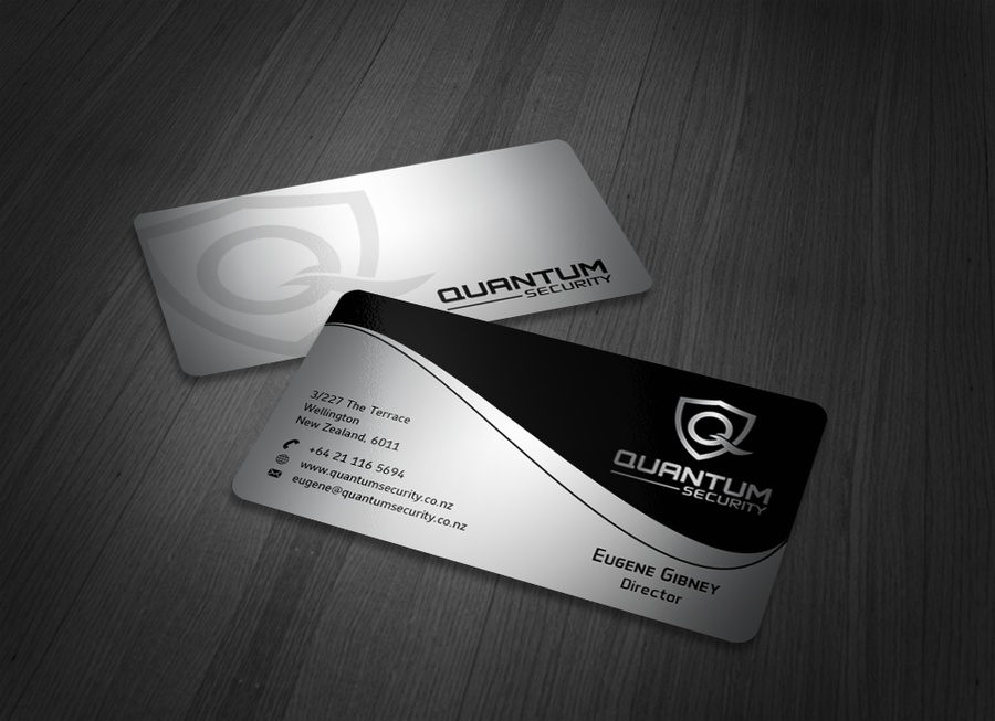 Create a business card for an IT security consultancy | Business ...