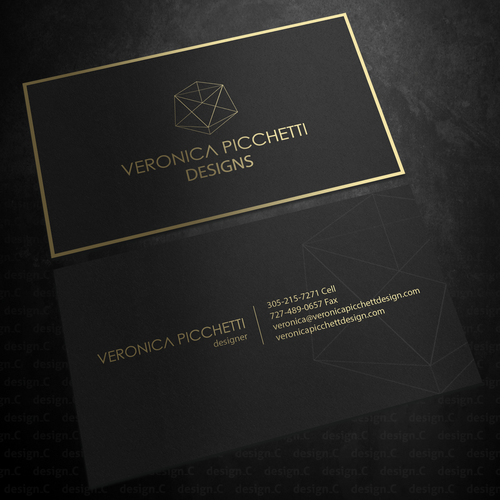 Luxury Interior Design Packages Business Card Contest 99designs