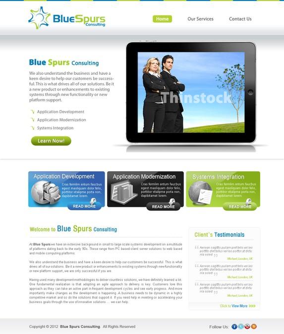 Winning design by Dzynmedia