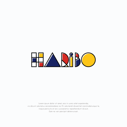 Community Contest | Reimagine a famous logo in Bauhaus style Design by Jaseng99
