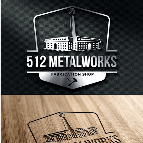 Create vintage design for custom welding/woodworking shop ...