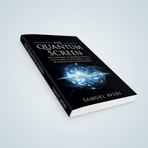 Book Cover: Quantum Physics & Consciousenss Design by ink.sharia
