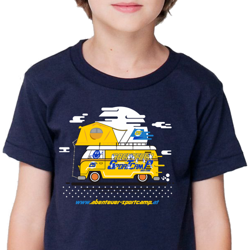 Create a cool summer sports camp shirt for 3000 kids (age 6-12) Design by nclos