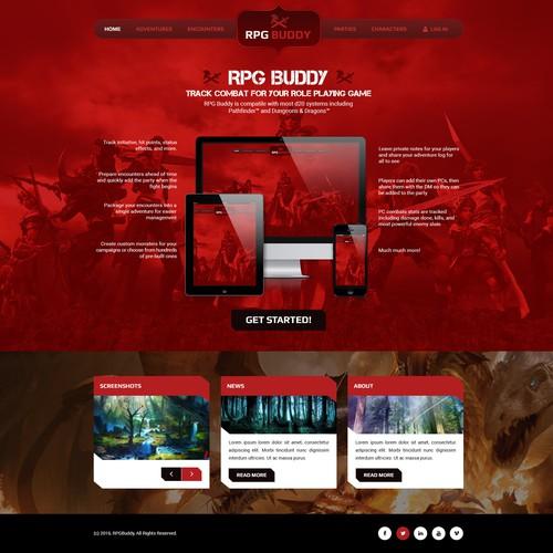 Runner-up design by WebPlanex