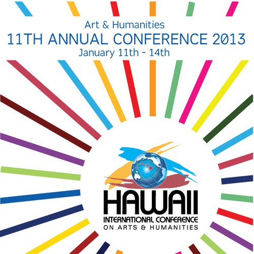 Create the next postcard or flyer for Hawaii International