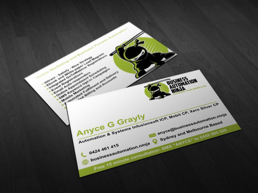 Cartoon Ninja Logo and Business Card | Logo & business card contest