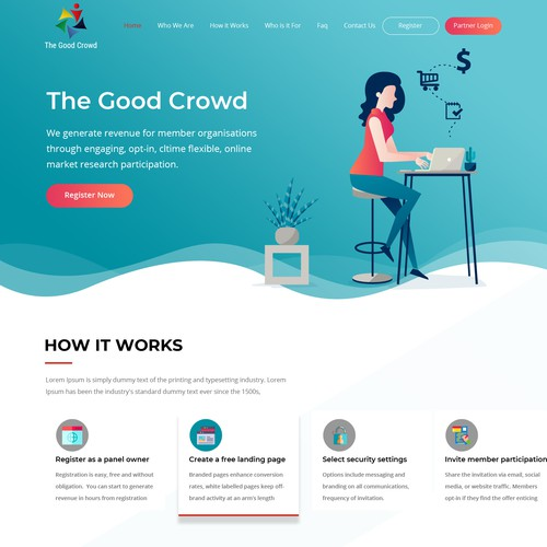 Runner-up design by FusionCloud
