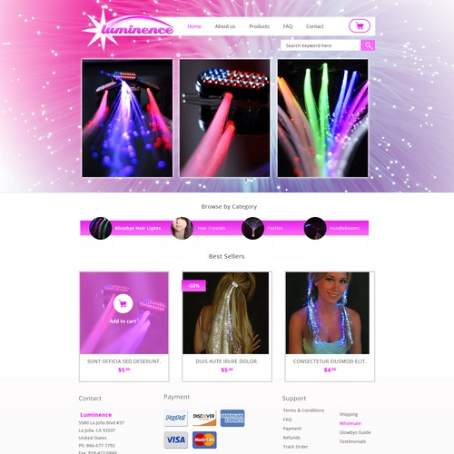 Design finalista por Webloom Studio
