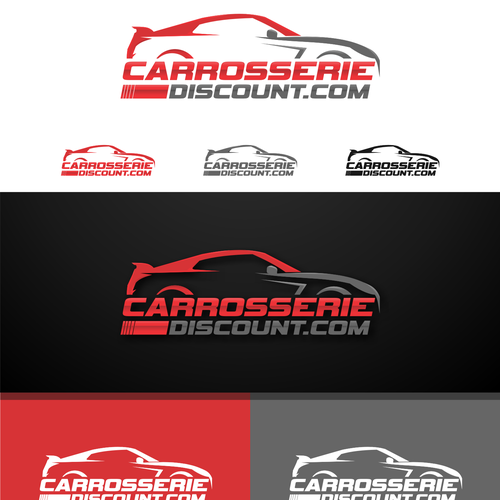 logo carrosserie discount concours cr ation de logo. Black Bedroom Furniture Sets. Home Design Ideas