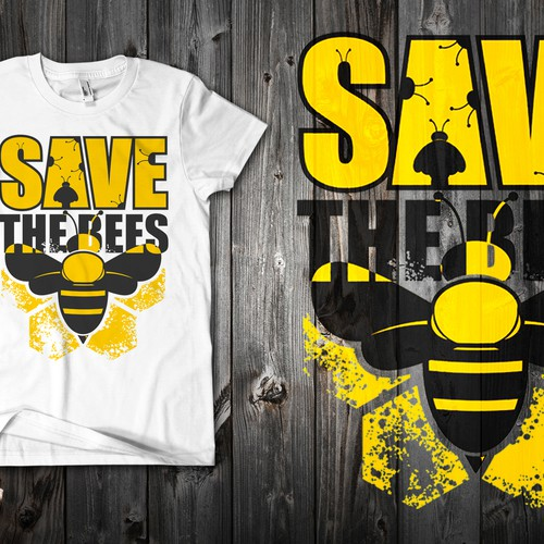 """Create a """"Save the Bees"""" Illustration Design by babavoss"""