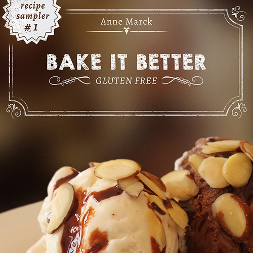 Create a Cover for our Gluten-Free Comfort Food Cookbook Design by The Underdogs