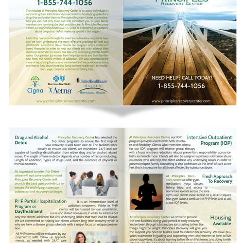 Helping us help those suffering from drugs and alcohol | Brochure ...