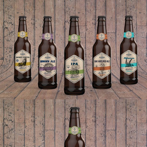 Create a vintage and timeless beer label for an up and coming mexican craft brewery! Ontwerp door gotza