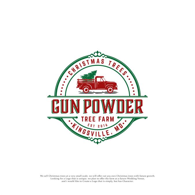 Christmas Tree Farm Logo.Design A Unique Logo For Gunpowder Christmas Tree Farm