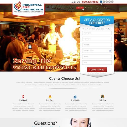 Diseño finalista de webdesignerdm