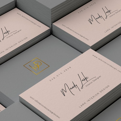 Simple And Sophisticated Design For Interior Design Firm Business Card Contest 99designs