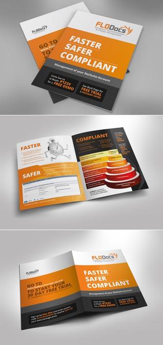 creative eye catching trade show bag insert brochure brochure contest