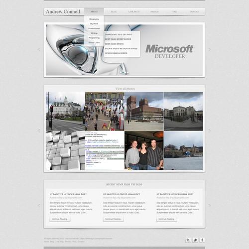 Runner-up design by Webloom Studio