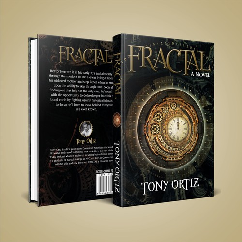 Be a part of - FRACTAL - the debut novel of Tony Ortiz