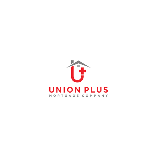 Union Plus Mortgage Company Logo | Logo & brand identity