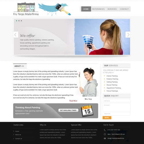 Runner-up design by Vertex Web Solution