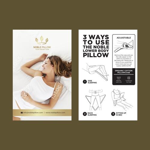 Erganic Lower Body Pillow Ontwerp door --Hero