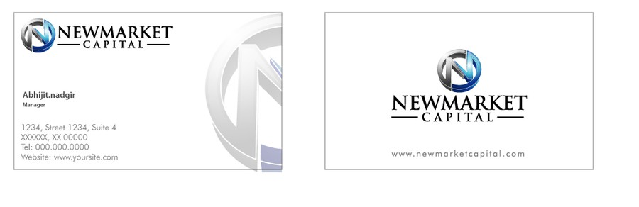 Newmarket capital pty ltd needs a new logo and business card logo newmarket capital pty ltd needs a new logo and business card reheart Image collections