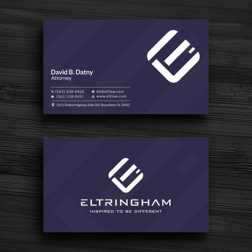 Business card letterhead design for an moderninnovative law firm runner up design by r4960 reheart